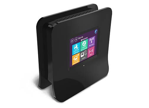 wireless touchscreen router